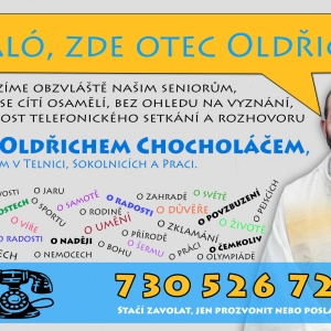 Haló, zde otec Oldřich!