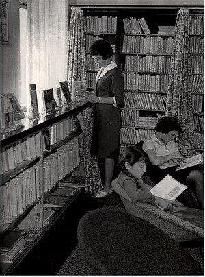 Knihovna vroce 1970