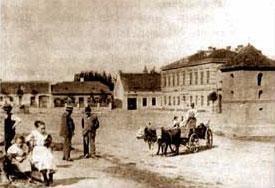 Sokolnická náves 1898