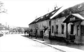 Dněšní ulice Zámecká vroce 1935