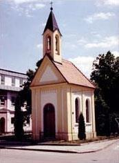 Dnešní podoba kaple 1996